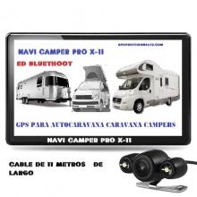 NAVI CAMPER PRO X-11 CON CAMARA CON CABLE DE 11 METROS DE LARGO