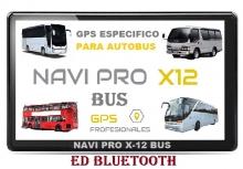 NUEVO NAVI PRO X-12 BUS  BLUETOOTH