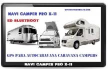 NAVI CAMPER PRO X-11 BLUETHOOT