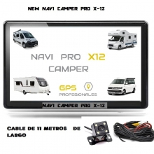 NUEVO NAVI  PRO X-12 CAMPER ED BLUETHOOT Y CAMARA TRASERA DE 11 METROS DE LARGO