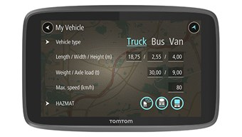 TOMTOM PROFESIONAL 6250