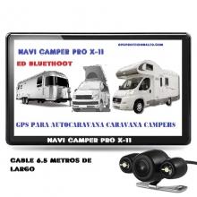 NAVI CAMPER PRO X-11 CON CAMARA CABLE DE 6.5 METROS DE LARGO