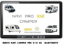 NUEVO NAVI  PRO X-12 CAMPER ES BLUETHOOT